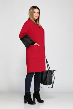 Женское пальто Lady Secret 6218 красный