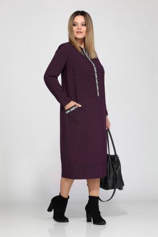 платье Lady Secret 3550 марсала