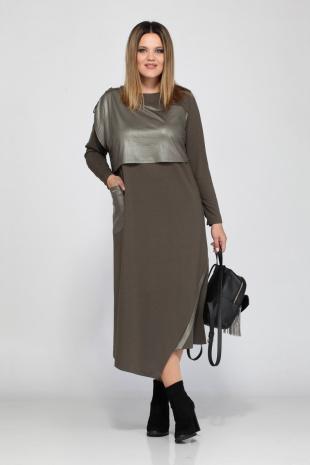 платье Lady Secret 3560 хаки