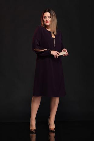 платье Lady Secret 3543 баклажан