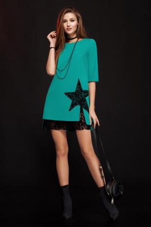 платье Lady Secret 3288 бирюза