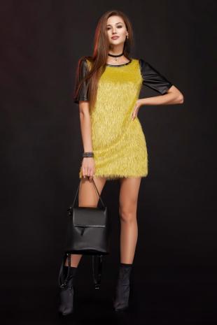 платье Lady Secret 3410 горчица