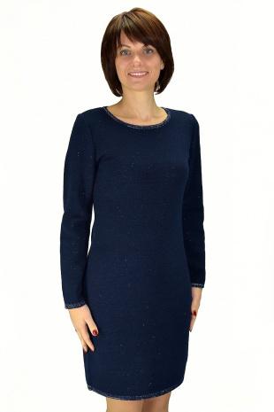 платье Romgil ТЗ170 темно-синий