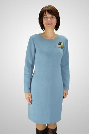 платье Romgil ТЗ172 серо-голубой