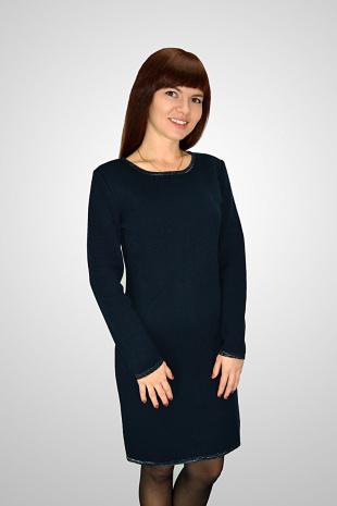 платье Romgil ТЗ171 темно-синий