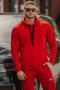 Толстовки и олимпийки Rawwwr clothing 028-начес красный