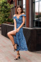 Платья и сарафаны Totallook 21-4-18 синий