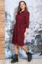 Платья и сарафаны Белтрикотаж 4353 бордовый