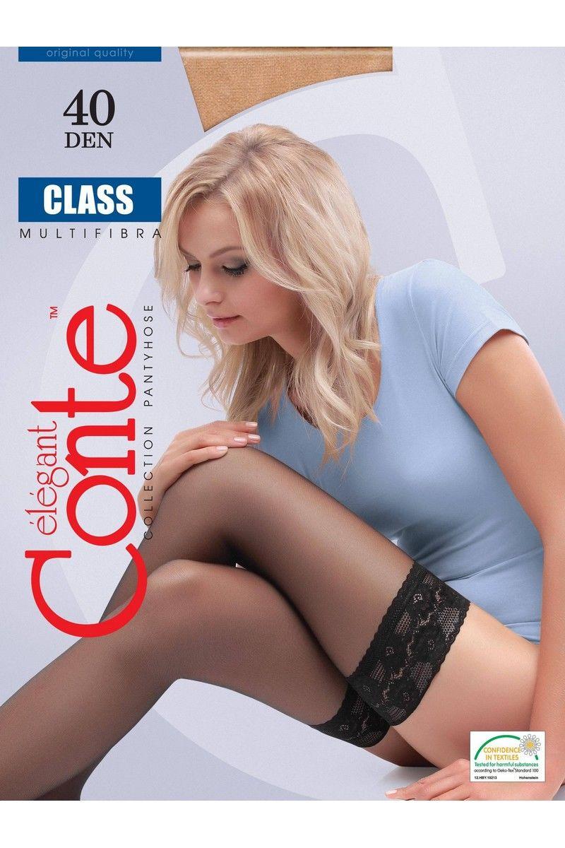 Чулки Conte Elegant Elegant_Glass_Mokka
