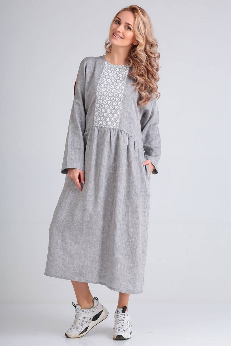 Льняное платье FloVia