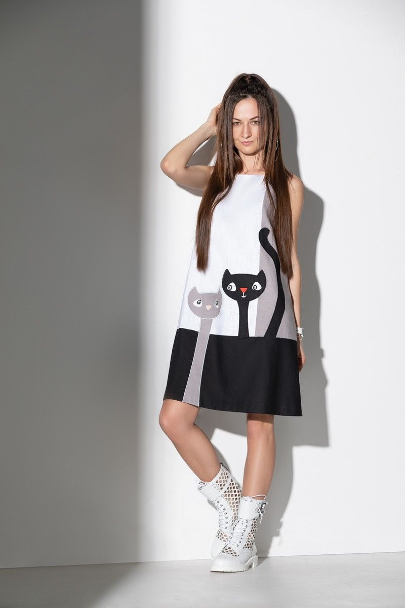 Льняное платье ElPaiz