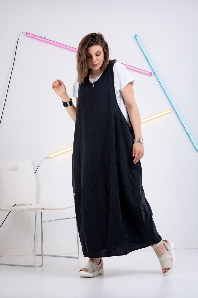 Льняное платье GRATTO