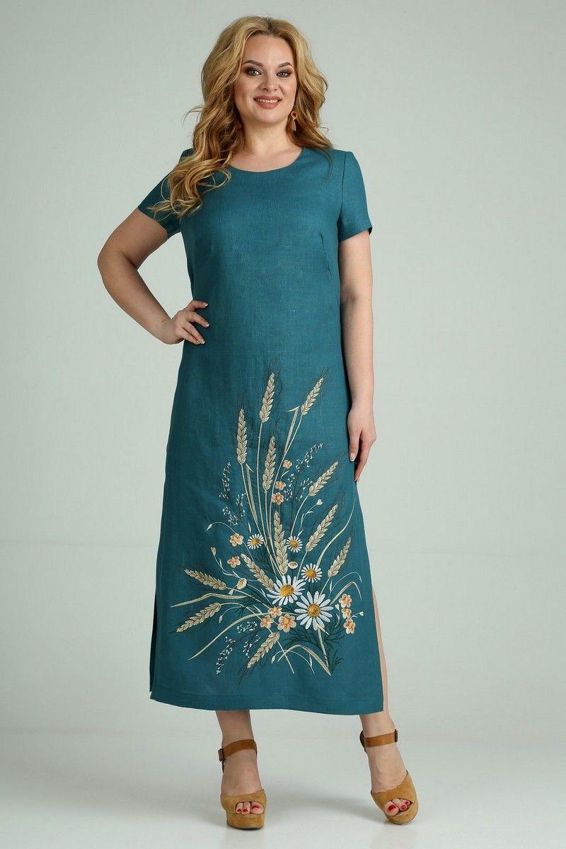 Льняное платье Jurimex