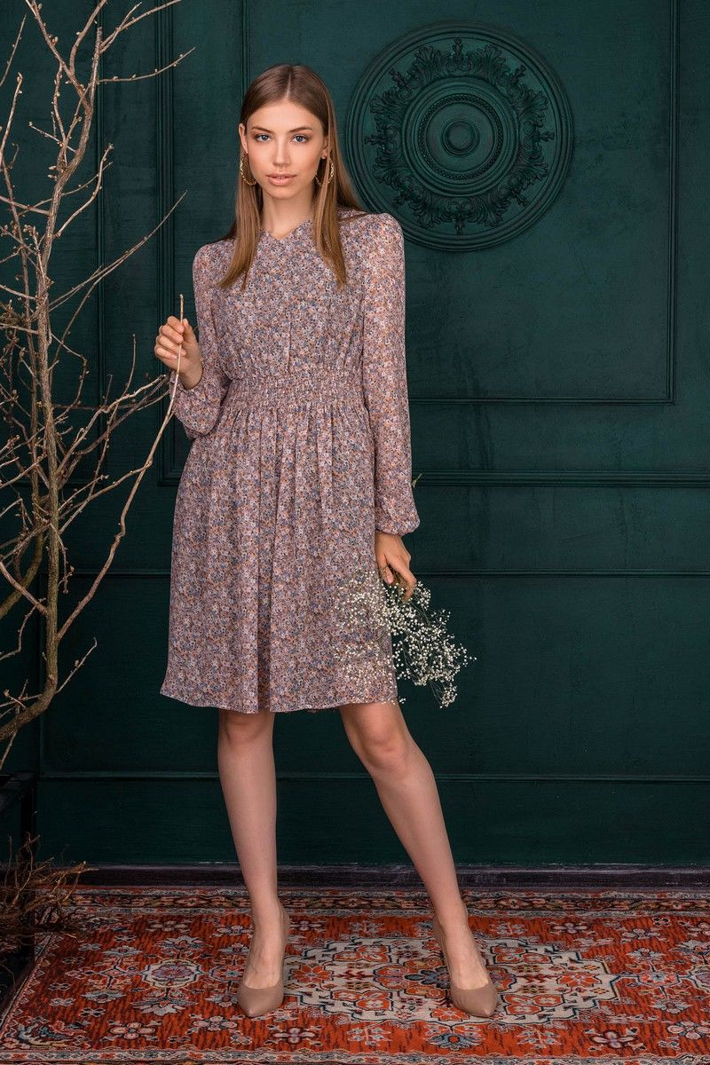 Шифоновое платье Ambera