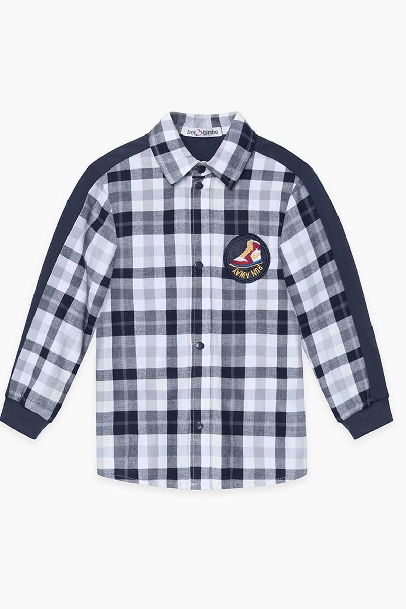 Рубашки с длинным рукавом Bell Bimbo 213031 клетка