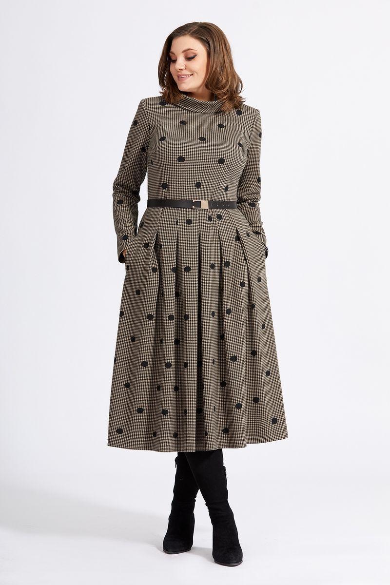Платья и сарафаны Милора-стиль 940 коричневый