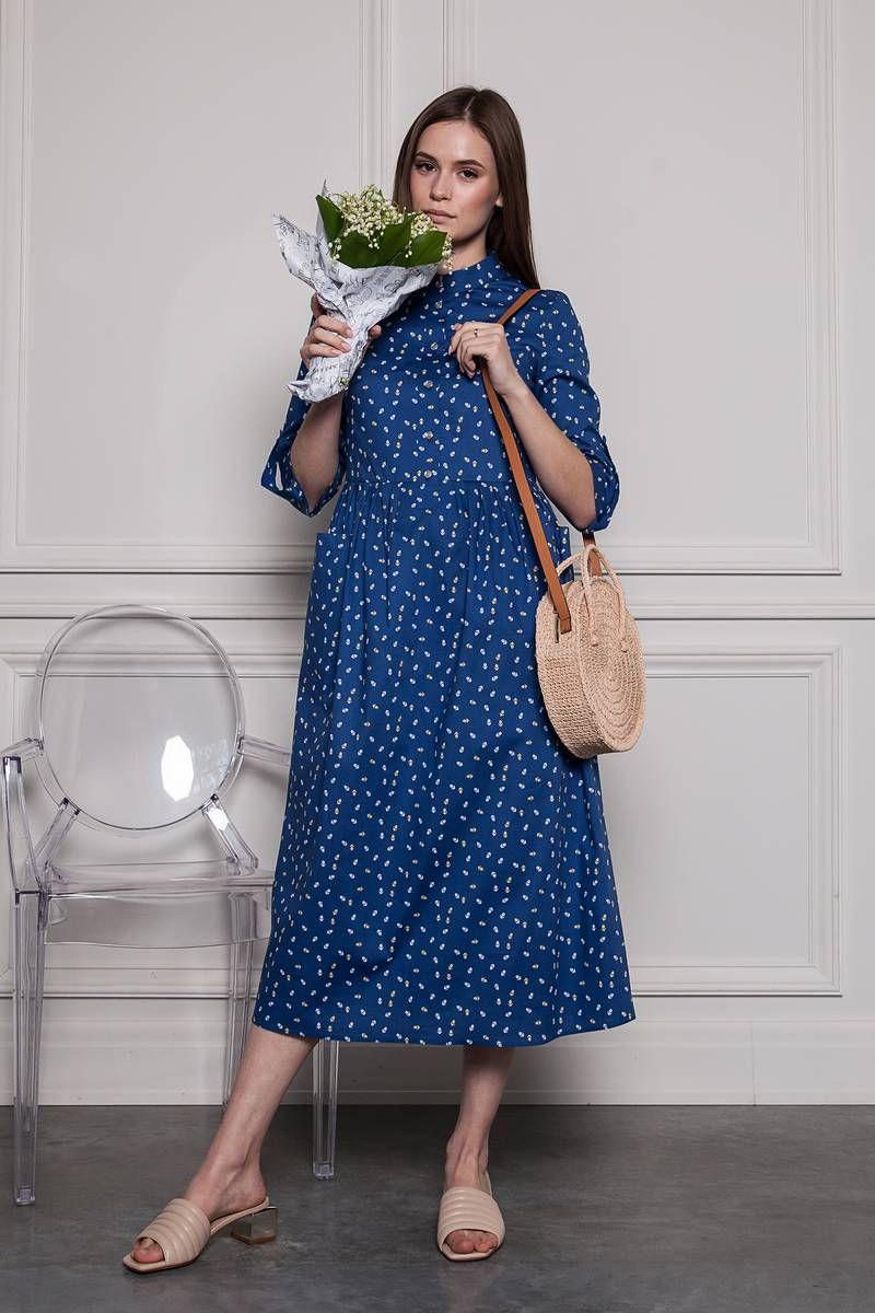 Платья и сарафаны ARTiMODA 321-06 синий