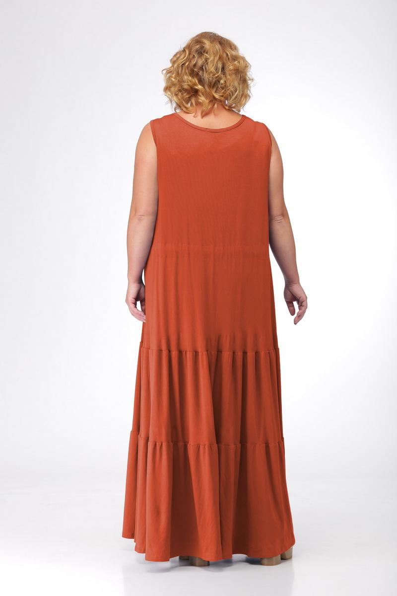 e8f40ffb20df9ee платье Michel chic 904 терракот