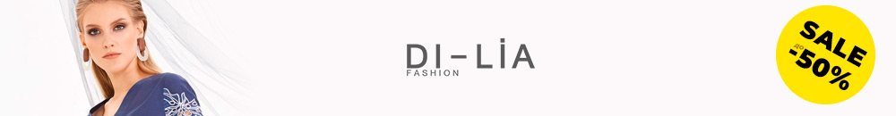 До 50% скидки на DiLiaFashion