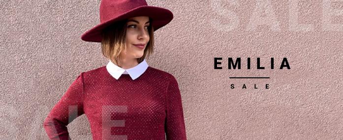 Скидки до -40% от Emilia